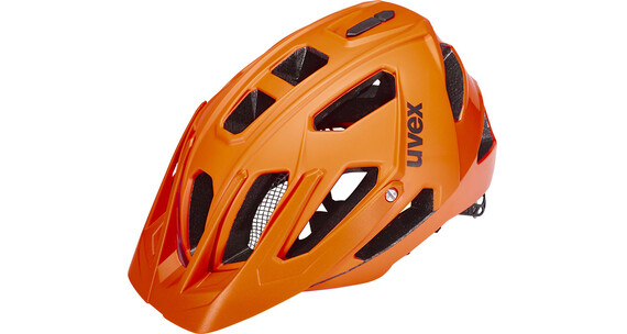 UVEX quatro Helmet orange mat-shiny
